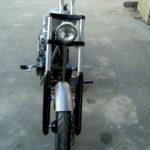 Bike in progress: montage à blanc