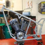 Bike in progress: new chopper