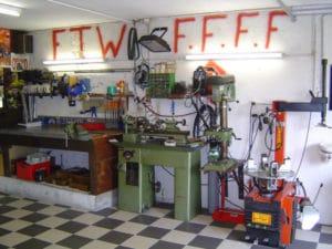 Garage Foui-Shop: machines
