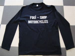 LONG-SLEEVE été noirs FOUI-SHOP devant